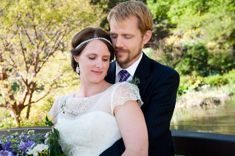 Red Butte Garden, Salt Lake City, garden and tea party-themed wedding.