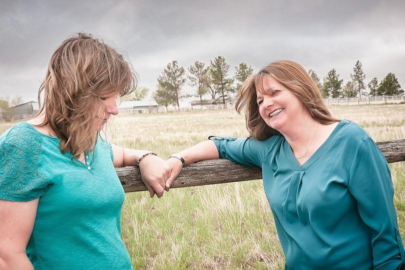 Two Brides on the CO prairie.