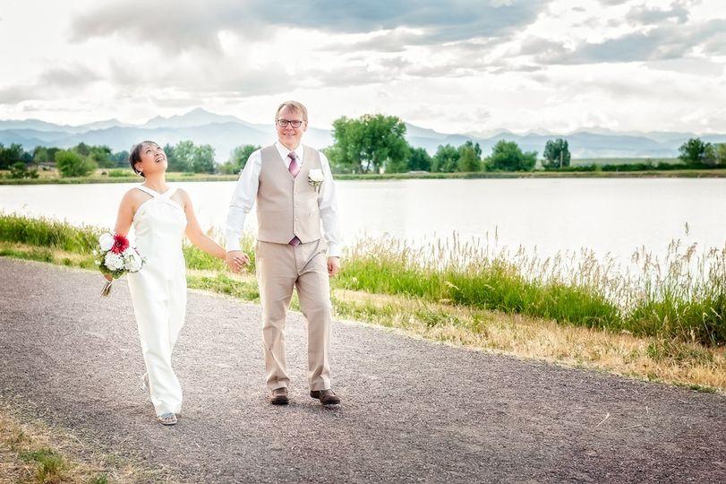 Backyard Wedding, Erie, CO