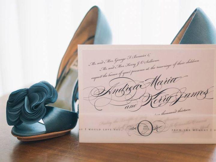 Tmx 1380173170760 Andreakerryinvite Bay Shore, New York wedding invitation