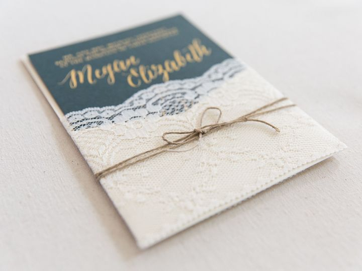 Tmx 1517589457 1cdfcca92ff52ebd 1517589452 1a5592bb344a09aa 1517589383111 36 73586A4D 65A5 4F2 Bay Shore, New York wedding invitation