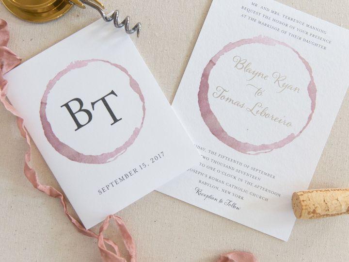 Tmx 1517589458 C7a7bb95605505f5 1517589453 Bd02e3500dc1d4cc 1517589383115 38 1642006B FCA0 4C9 Bay Shore, New York wedding invitation
