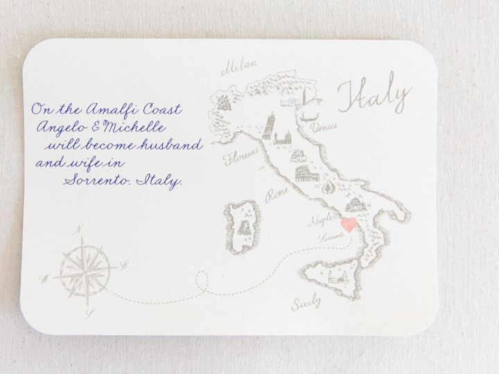 Tmx 1517589461 Bfc772fb5ec59241 1517589458 A12188e1ffd23fd1 1517589383129 45 D111EBF0 755B 476 Bay Shore, New York wedding invitation