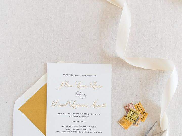 Tmx 1517775825 4852cf57d1aeecda 1517775822 03ea9554b9ac7111 1517775821645 1 Erinmcginn 001 Eri Bay Shore, New York wedding invitation