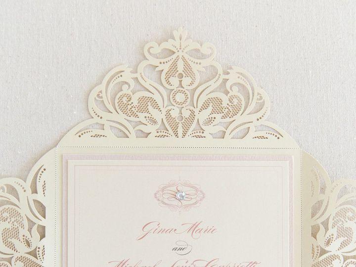 Tmx 1517776970 9bfc9bfe5521f72d 1517776967 E7c9b79b83630b78 1517776966283 6 Erinmcginn 087 Bay Shore, New York wedding invitation