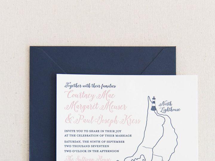 Tmx 1517777163 C042acd6a80f2372 1517777160 A6292e3ddc97f743 1517777159000 14 Erinmcginn 286 Bay Shore, New York wedding invitation