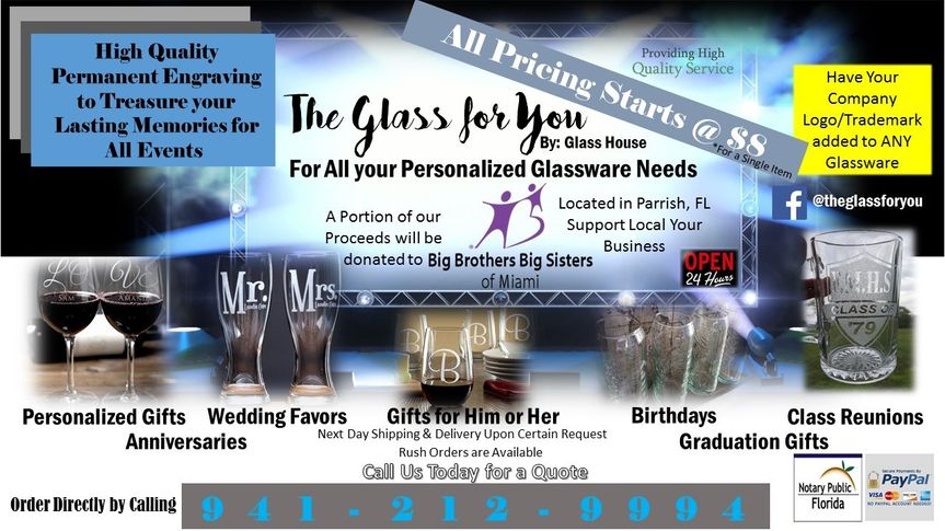 the glass for you logo new