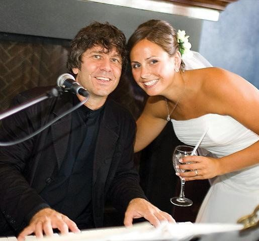 "Henry Haid from ""Movin' Out"" with Bride"