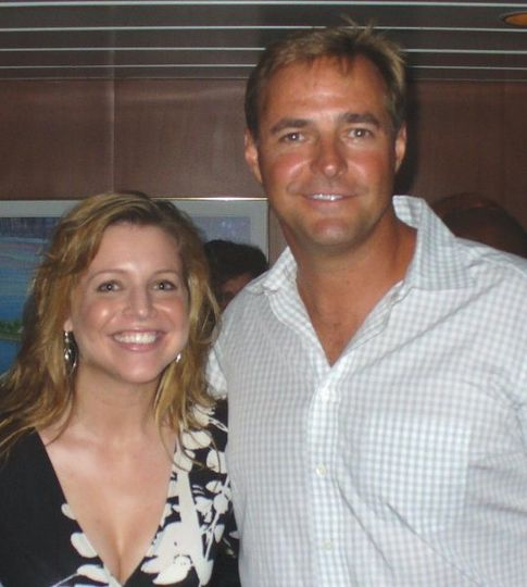 Lynda with Al Leiter Yankees Mets Pitcher