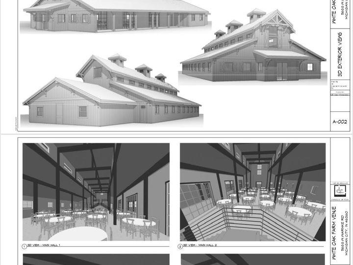 Tmx Cedar Barn Rendering Interior And Exterior 51 1848783 158247759321287 Michigan City, IN wedding venue