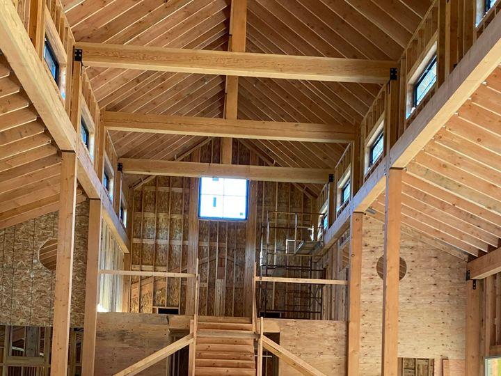 Tmx Cedar Barn Staircase And Mezzanine 6 5 20 51 1848783 159335472754290 Michigan City, IN wedding venue