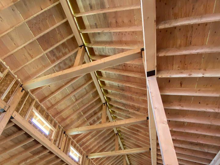 Tmx End Of Week 3 Cedar Barn Framing 3 51 1848783 158860274836326 Michigan City, IN wedding venue