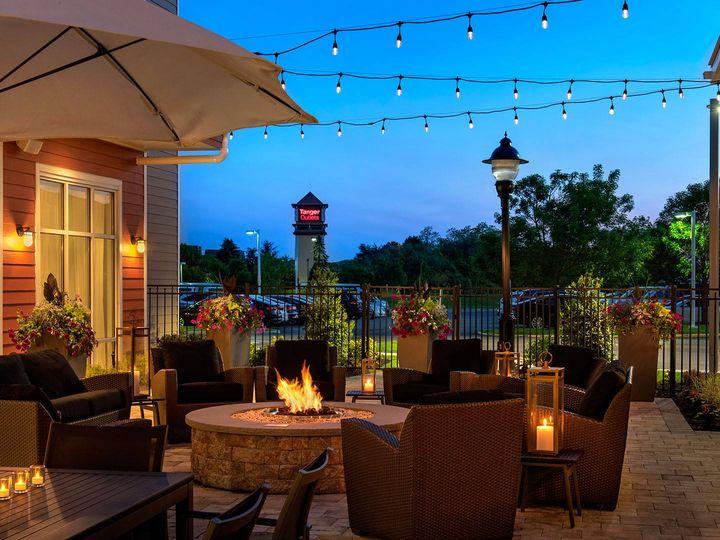 Tmx Courtyard Evening 51 998783 Riverhead, NY wedding venue
