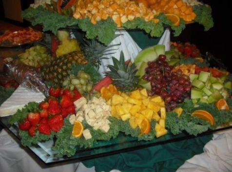Fruit salad table