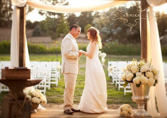 Rustic inspired wedding on a farm in Sonoma