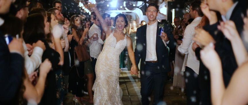 Whitney & Evan Wedding Exit