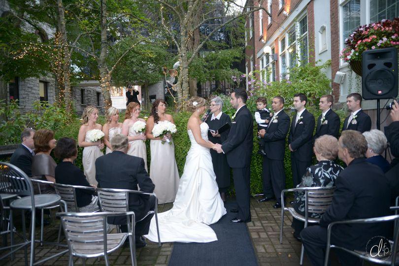 Intimate Ceremony Outdoor
