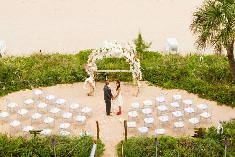 Private ceremony on the Dune
