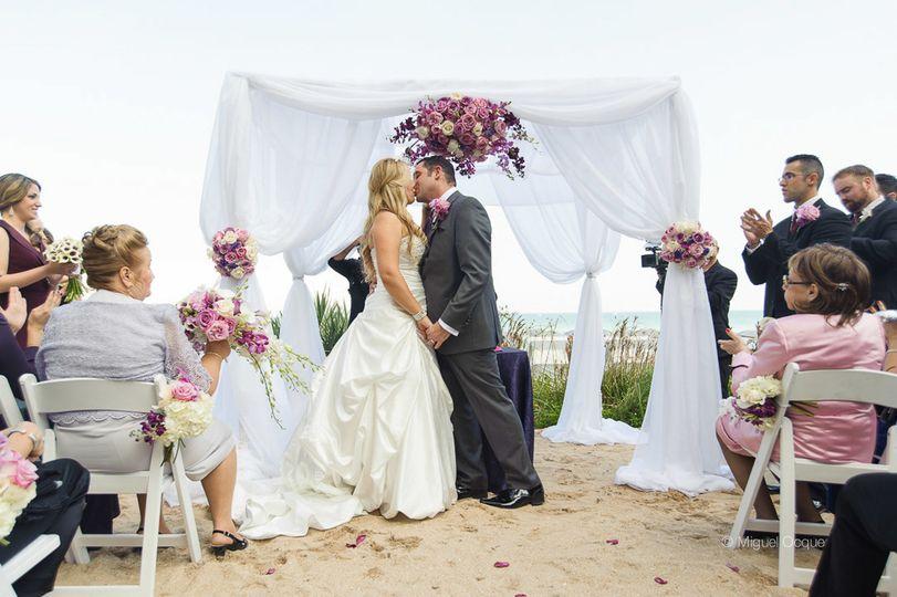 Wedding ceremony on the Dune