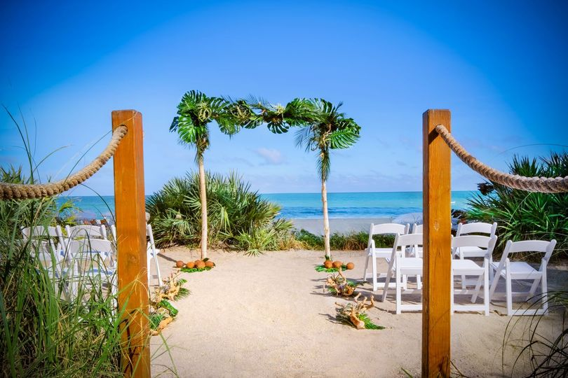 dune ceremony with bamboo arch 51 700883 162040875051719