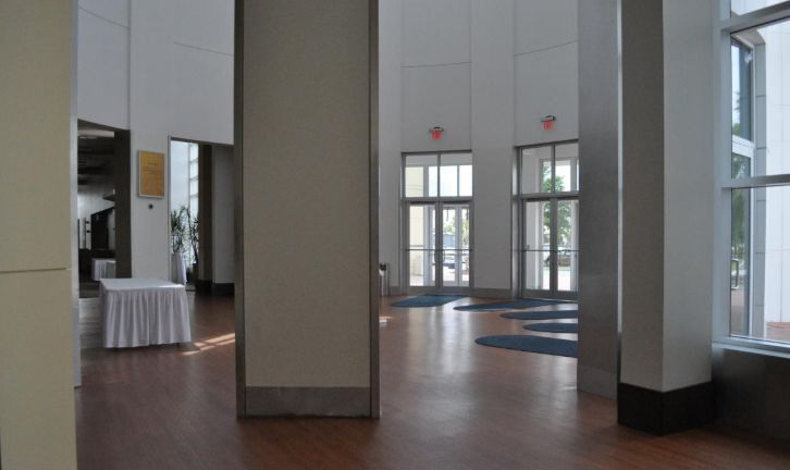 Inside the Chesapeake Conference Center
