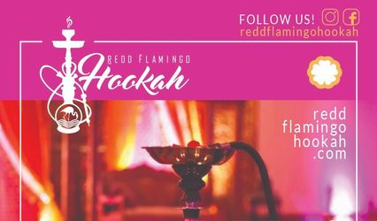 Redd Flamingo Hookah 1