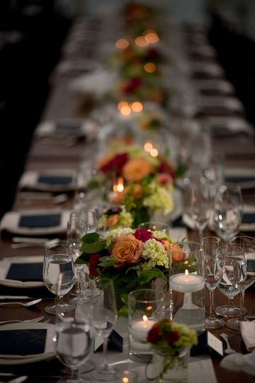 Table setup | Jennifer Mardus Photography