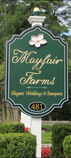 2 mayfair sign
