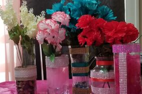 ELEGANT CENTERPIECES MADE BY NAKEEYA!
