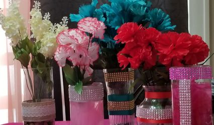 ELEGANT CENTERPIECES MADE BY NAKEEYA! 1