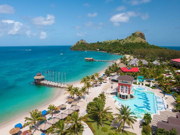 Tmx Sandals Grande St Lucia Rodney Bay 51 1042883 Victor, NY wedding travel