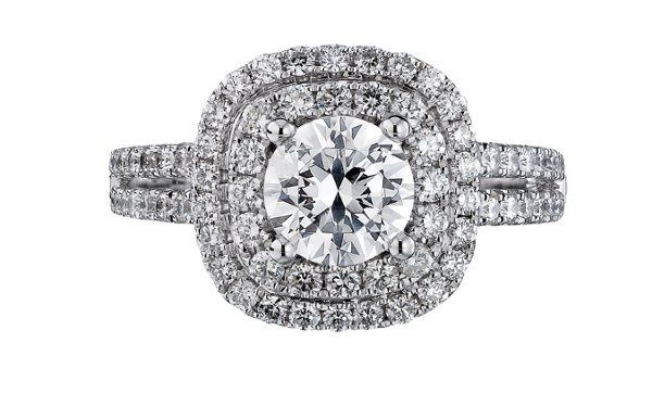 Scott Kay Luminar Engagement Ring