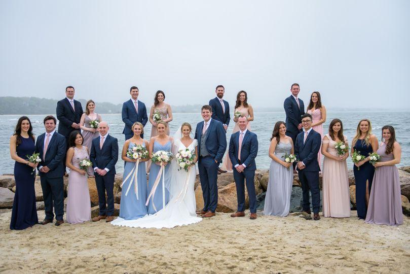 Cape Cod Wedding Party