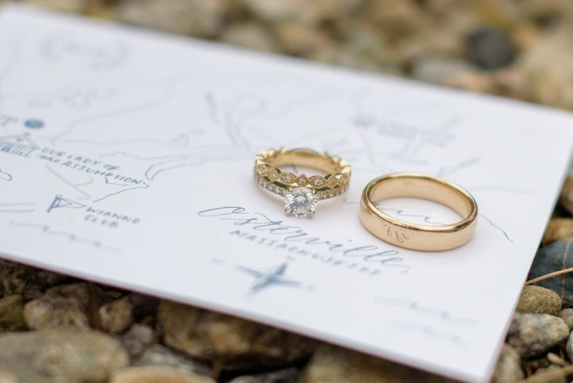Rings on Osterville Invitation