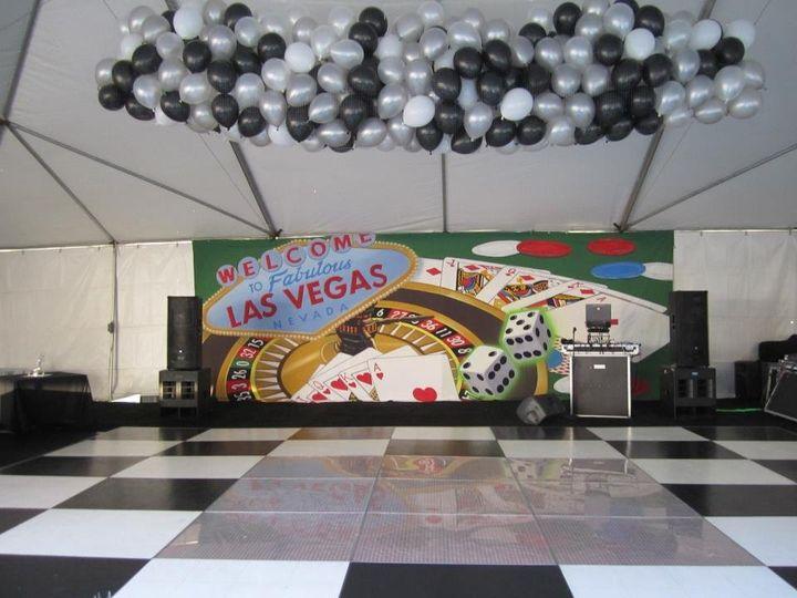 Casino night NYE party. Pierpont Inn Ventura