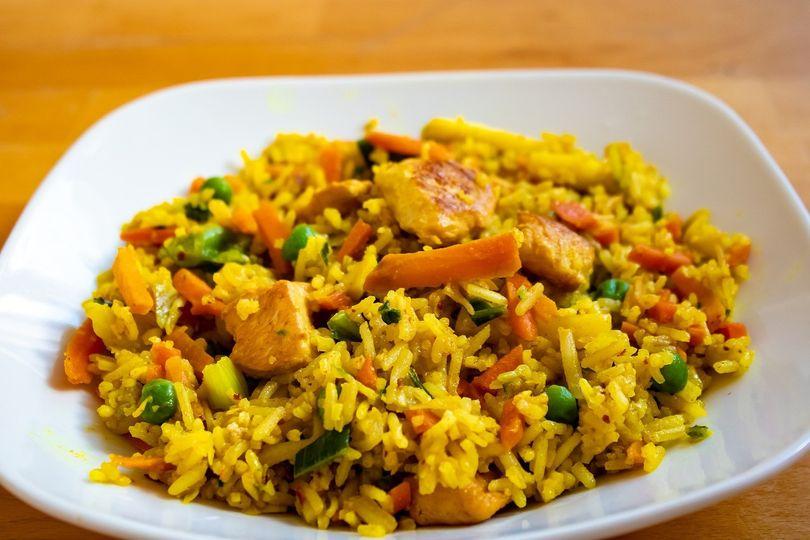 Polynesian Chicken Rice