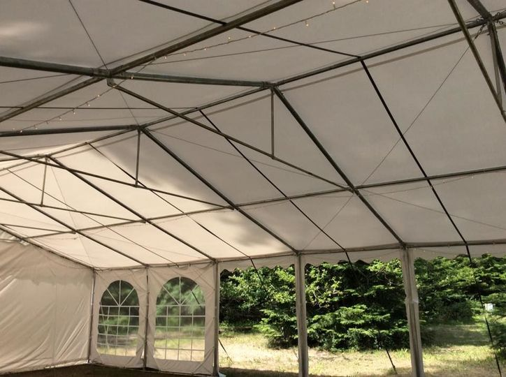 Tent event space