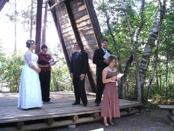 Tmx 1429032853387 Lia And Alex Wedding 2 Laurel wedding officiant