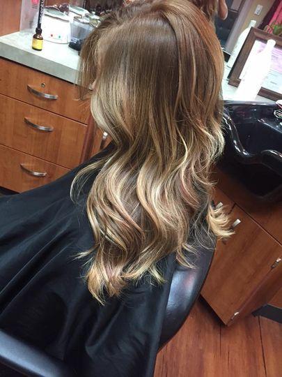 Lovely hair waves