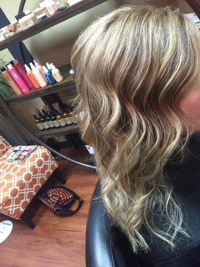 Hair with waves