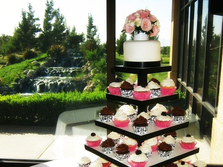 Tmx 1358059006344 IMG1720 Palmdale wedding cake