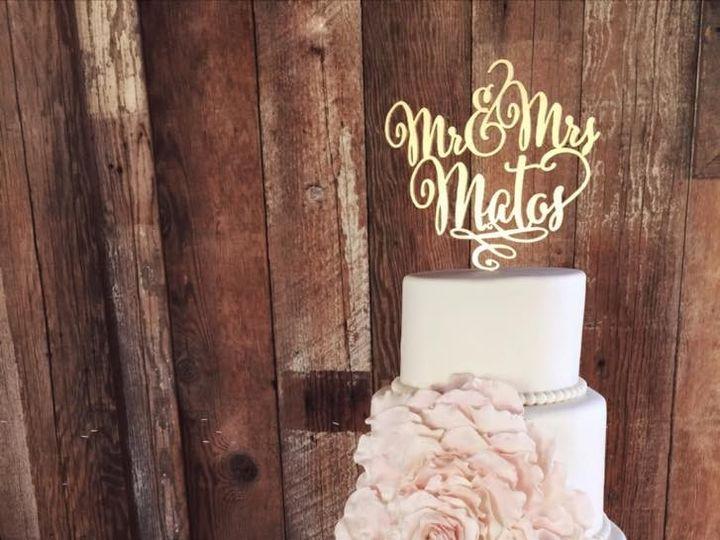 Tmx 1445362023240 Cake1 Palmdale wedding cake