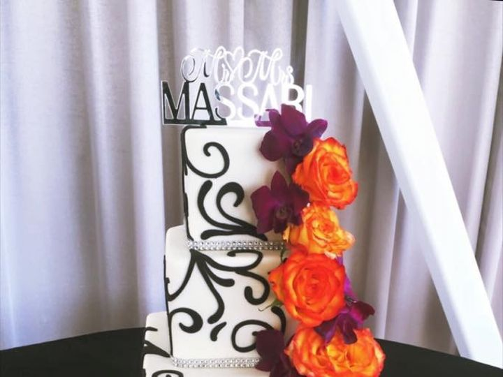 Tmx 1445362163155 Cake2 Palmdale wedding cake