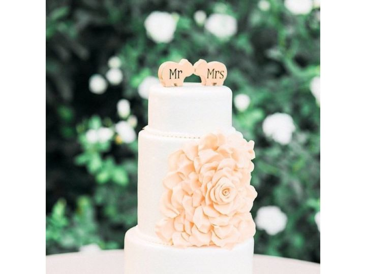 Tmx 1508355553265 Img4833 Palmdale wedding cake