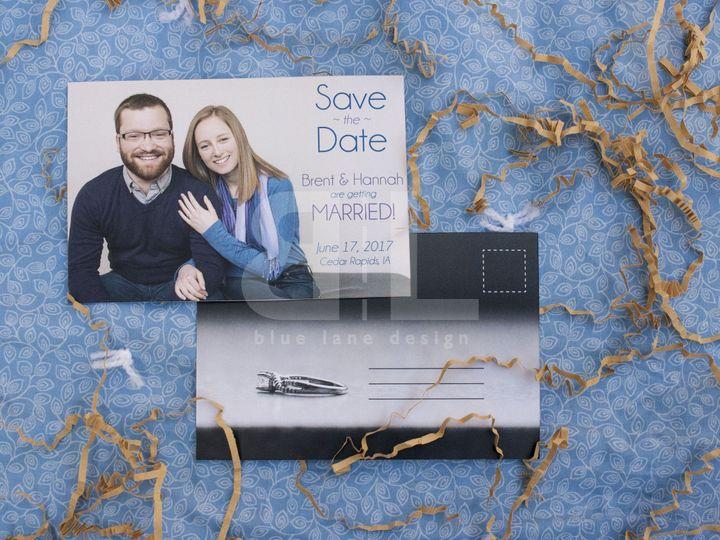 Tmx 1484588107368 2 Brent And Hannah Ankeny wedding invitation