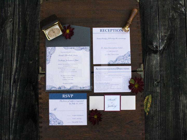 Tmx 1484588143964 2 Sarah And Zac Ankeny wedding invitation