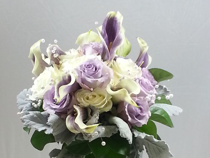 Tmx 1474913081887 Calla Bridal Bouquet 92016 Bensalem wedding florist