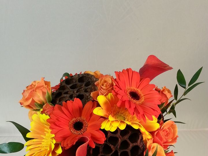 Tmx 1474913197939 Fall Bouquet With Gerbera 92016 Bensalem wedding florist