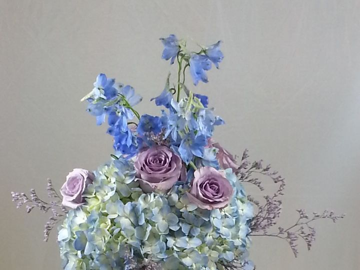 Tmx 1474913279721 Lav Roses Blue Hydrangea 92016 Bensalem wedding florist