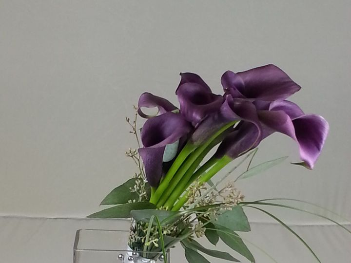 Tmx 1474913474402 Purple Calla Bouquet 92016 Bensalem wedding florist